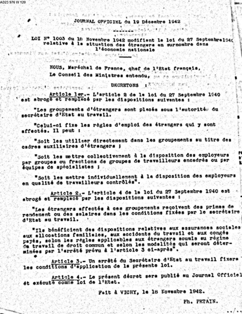 Loi-no-1003-du-18-Décembre-1942