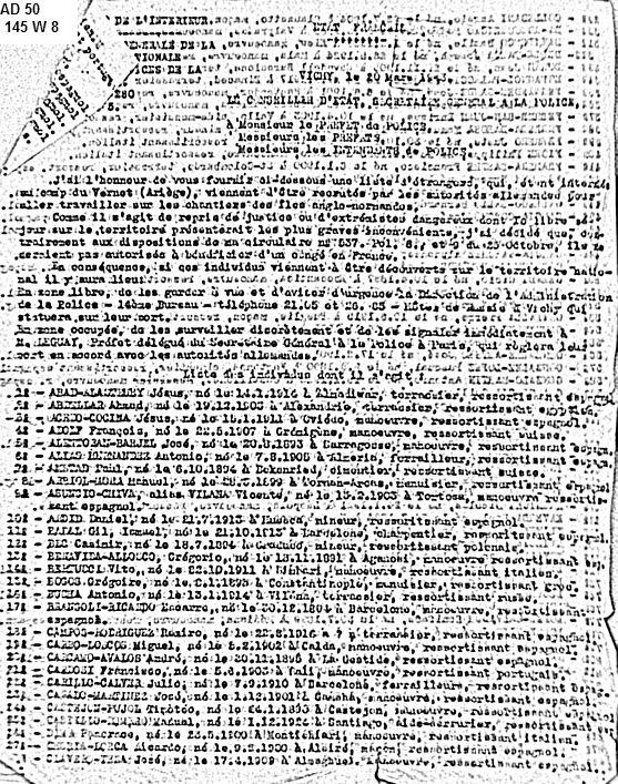 Etrangers-de-Vernet-partis-pour-OT-à-Alderney-mars-1943