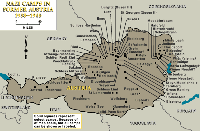 Camps in Austria 1938-1945