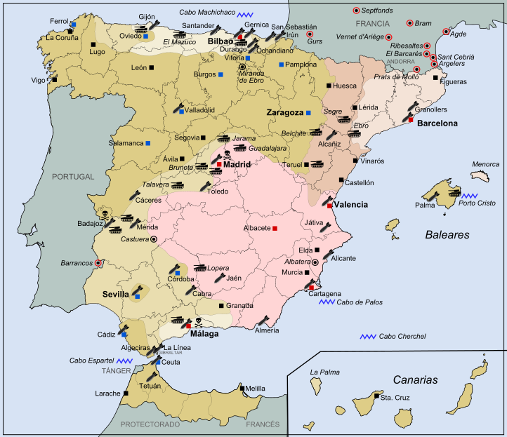 Spanish Civil War 1936-1938