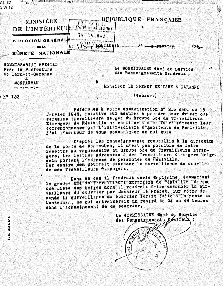 534e-GTE-Réalville-Belges-Février-1942