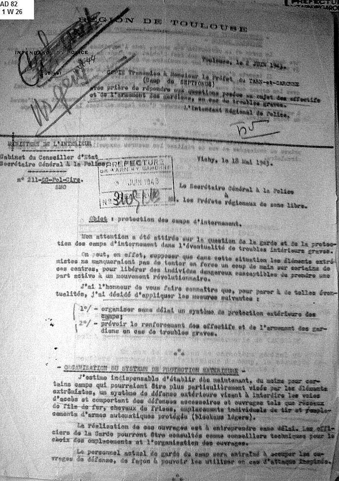 Camp-Septfonds-encadrement-mai-1943