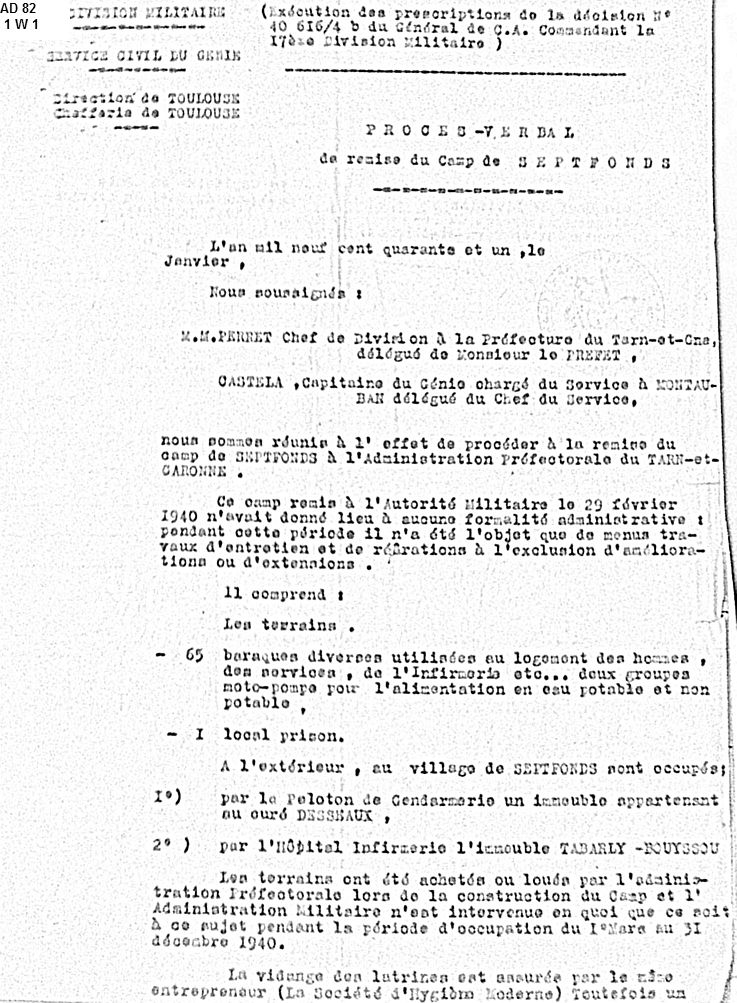 GTE-Camp-Septfonds-organisation-janvier-1940