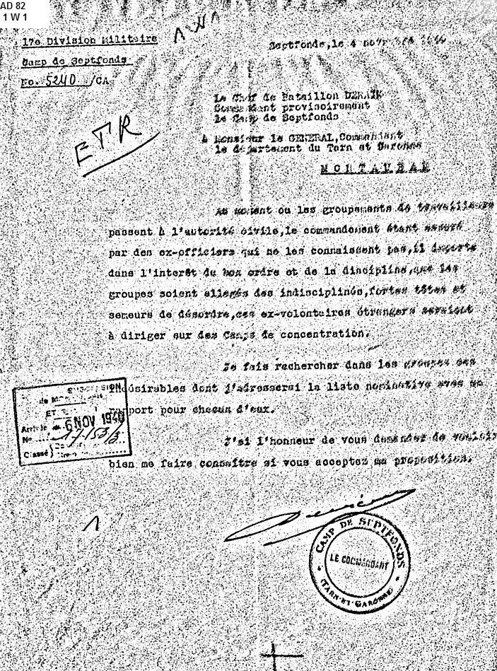GTE-Septfonds-Indésirables-novembre-1940