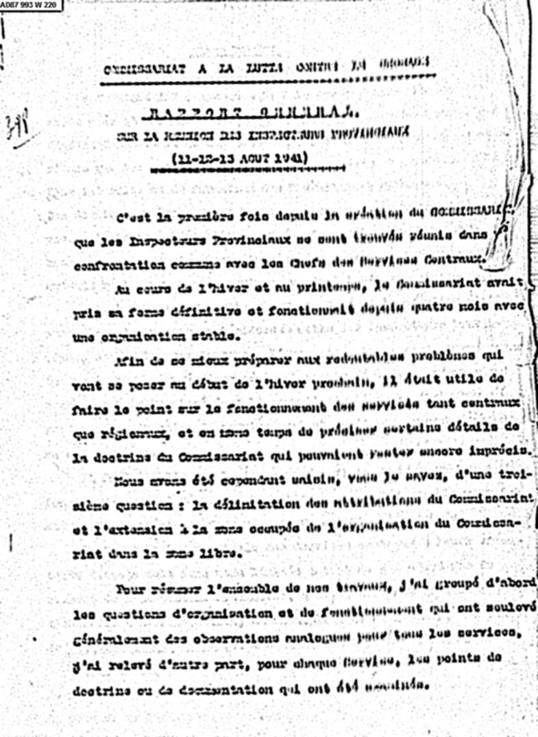 CLC-rapport-inspection-provinciaux-aout-1941